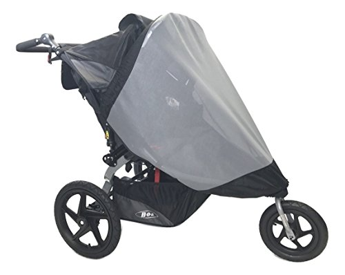 Sashas''See Me See You Series'' Sun Wind and Insect Cover for Bob Revolution Flex Duallie Jogging Stroller by Sasha Kiddie Products (Image #1)
