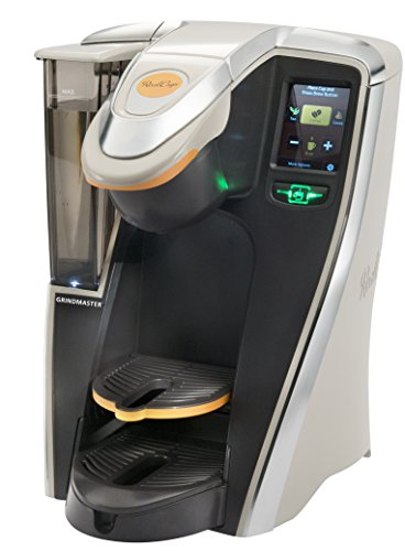Grindmaster RC400 Single Cup Commercial Brewer, Black/Silver