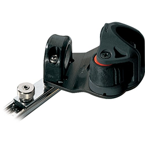 Ronstan Series 19 C-Track Slide - w/Swiveling Dead Eye - Cam Cleat - Spring-Loaded Track Stop Marine , Boating Equipment