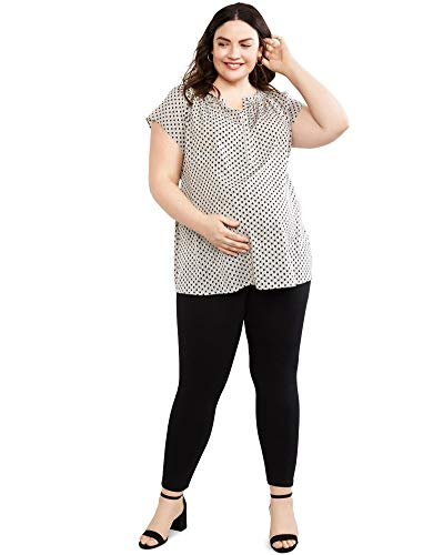 Motherhood Maternity Women's Indigo Blue Stretch Secret Fit Belly Ankle Denim Jegging, black Wash 2X