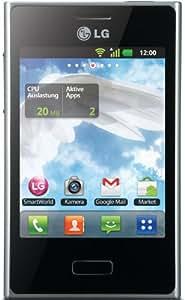"LG 400 Optimus L3, 81.3 mm (3.2 ""), 240 x 320 Pixeles, TFT, 0.262000 M, capacitive, 800 MHz, color blanco (importado de Alemania)"