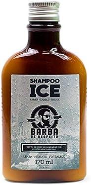 Shampoo Ice para Barba e Cabelo170ml, Barba de Respeito