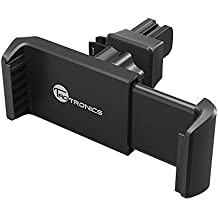 TaoTronics Car Holder for Air Vent TT-SH015 Car Phone Mount One Click Release Car Cradle for iPhone 7 Plus iPhone 7 iOS Smartphone Android and More, Black