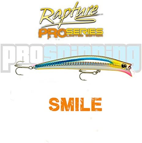 RAPTURE - SMILE - Señuelo pesca - Spinning - COLOR HSGH: Amazon.es ...
