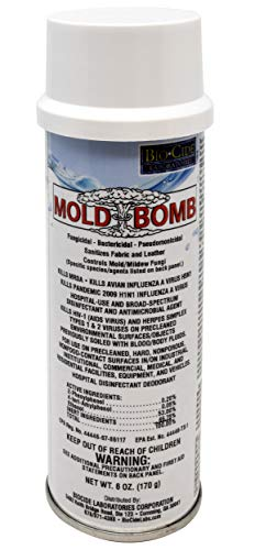 Odor Fogger - BioCide Mold Bomb Fogger - Mold Killer & Remover - Kill, Clean and Prevent Mold, Mildew, Germs, Viruses, Fungi and Bacterias, DIY Mold Remediation