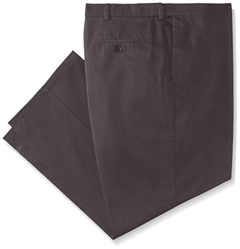 Haggar Men's Big & Tall Work to Weekend Hidden Expandable-Waist Plain-Front Pant