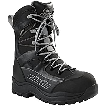 Force 2 Mens Snowmobile Boot Gray 8