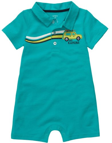 Surf Buggy (Carter's Boys Romper Big Kahuna Buggy Surfboard (6 Months))