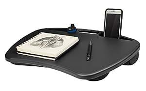 Amazon Com Lapgear Mydesk Black Fits Upto 15 6 Quot Laptop