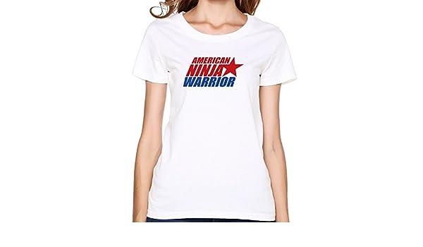 Amazon.com: American Ninja Warrior Logo Womens T Shirt: Books