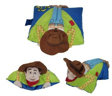 Disney Toy Story Folding Woody Pillowtime Pillow Pal