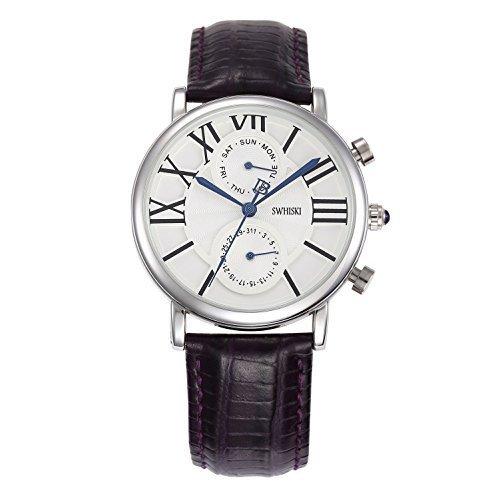 Para mujer Fashion SWHISKI Online Soko e instrucciones para hacer vestidos Lady agenda de fecha reloj