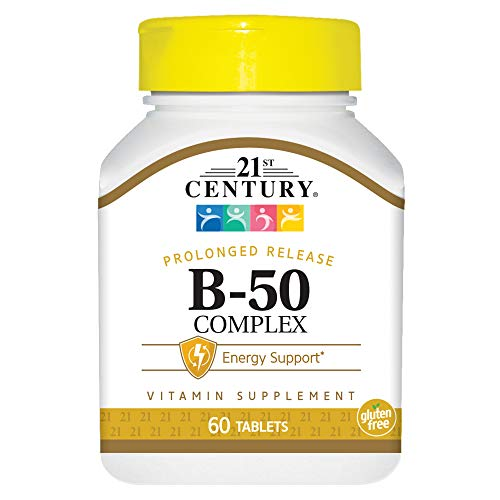 (21st Century B 50 Complex Prolonged Release Tablets, 60 Count)