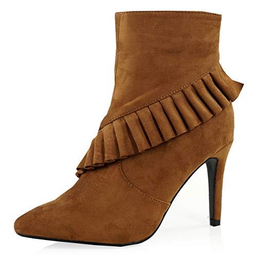 Camel Femme Sandales Cucu Compensées Fashion 8txXwSI