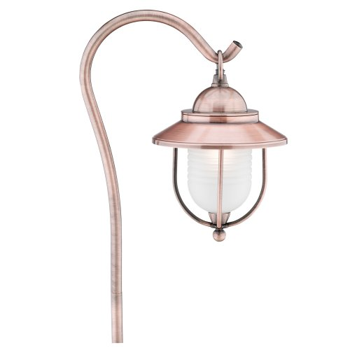 Malibu Brightscapes Landscape Lighting Antique Copper : Malibu cs k low voltage watt metal lantern walk light