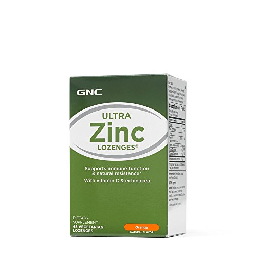GNC Ultra Zinc Lozenges - Orange ()