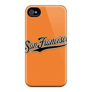 New Style Leeler Hard Case Cover For Iphone 5s- Baseball San Francisco Giants 2