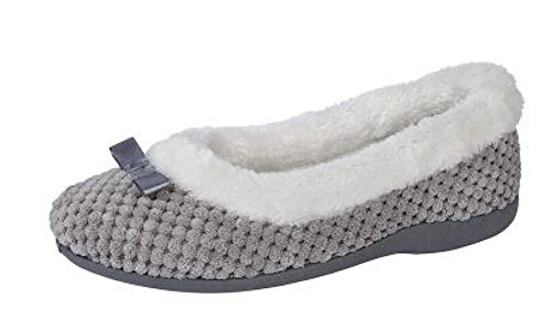 Chaussons Gris pour Femme Chaussons Sleepers pour Sleepers Femme Gris pour Femme Sleepers Chaussons ST5IYq