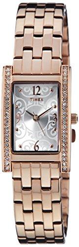 Timex Fashion Analog Silver Dial Women #39;s Watch   TW000Y700