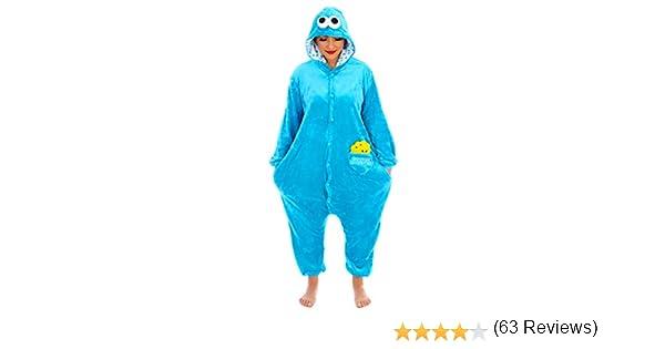 Everglamour Pijama/mono de monstruo de las galletas.: Amazon.es ...