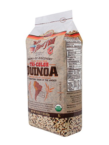 Bob's Red Mill Organic Tri-Color Quinoa Grain, 16 oz