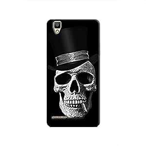 Cover It Up Gentle Skull Hard Case for Oppo F1 - Black
