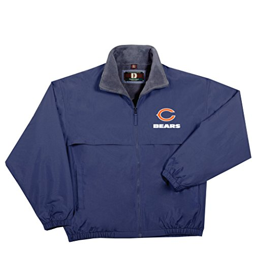- NFL Chicago Bears  Triumph Fleece Lined Mid Weight Jacket, X-Large, Navy