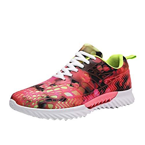 JJHAEVDY Mens Women Couple Color Graffiti Sneakers Fashion Galaxy Print Breathable Running Casual Non-Slip Shoes
