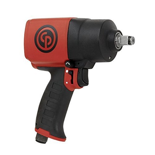 Chicago Pneumatic CP7749 ½ in. Air Impact Wrench – Pneumatic Tool with Twin Hammer Mechanism. Impact Wrenches
