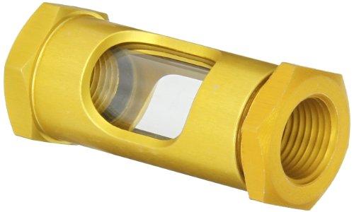 Gits 04282 Style OL Sight Flow Liquid Level Gauge Brass Liquid Level Gauge