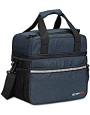 Veevanpro Waterproof Leakproof Insulated Soft Cooler Bag Cooler Tote 24 Cans 20L