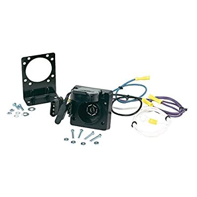 Hopkins 47185 Multi-Tow 4 Flat to 7 Blade and 4 Flat Adapter: Automotive