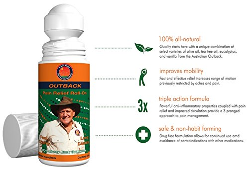 Outback Pain Relief Natural Topical Oil