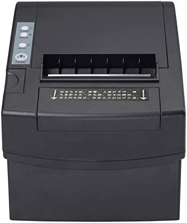 KANEED ブルートゥースUSBポートサーマルノートバーコードプリンタ 80mmパラレル/シリアルポート+ USBまたはイーサネットポート熱容量プリンター(XPC2008)
