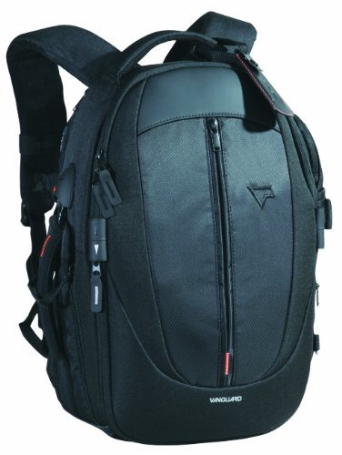 (Vanguard Up-rise 45 Zoom Expandable Camera, Notebook Back Pack -Black)