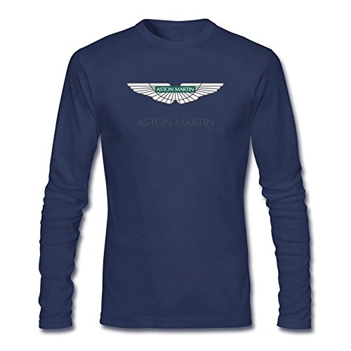dlqueen-mens-aston-martin-logo-adult-long-sleeve-t-shirt-tee-size-m-royal-blue
