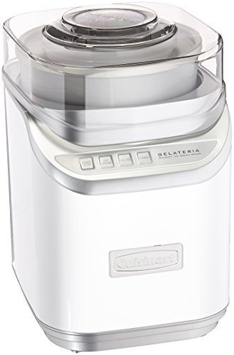 (Cuisinart ICE-60W Cool Creations Ice Cream Maker, White)