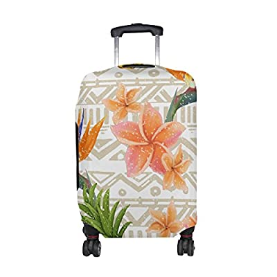 fdb99c8c8a7a outlet DEYYA Tropical Pineapple And Plam Leaves Spandex Travel ...