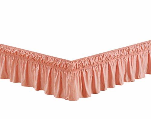 Pink Twin Dust Ruffle (Wrap Around 16