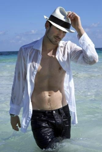 Ian Somerhalder Poster #02 Wet Open Shirt