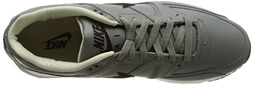 Nike Air Max Command Leather - Zapatillas de running, Hombre Tumbled Grey/Black-Lnr Gry-Wht