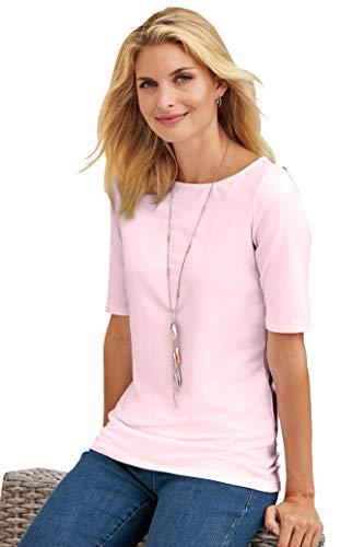 Chadwicks of Boston Elbow Sleeve tee Shirt for Women | Womens T Shirts