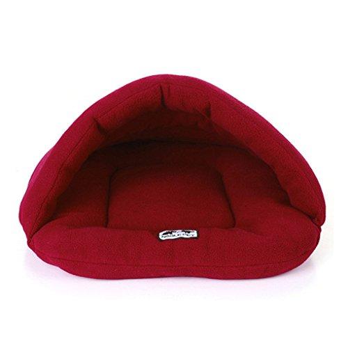 Warm Sleeping Fleece Dog Bed