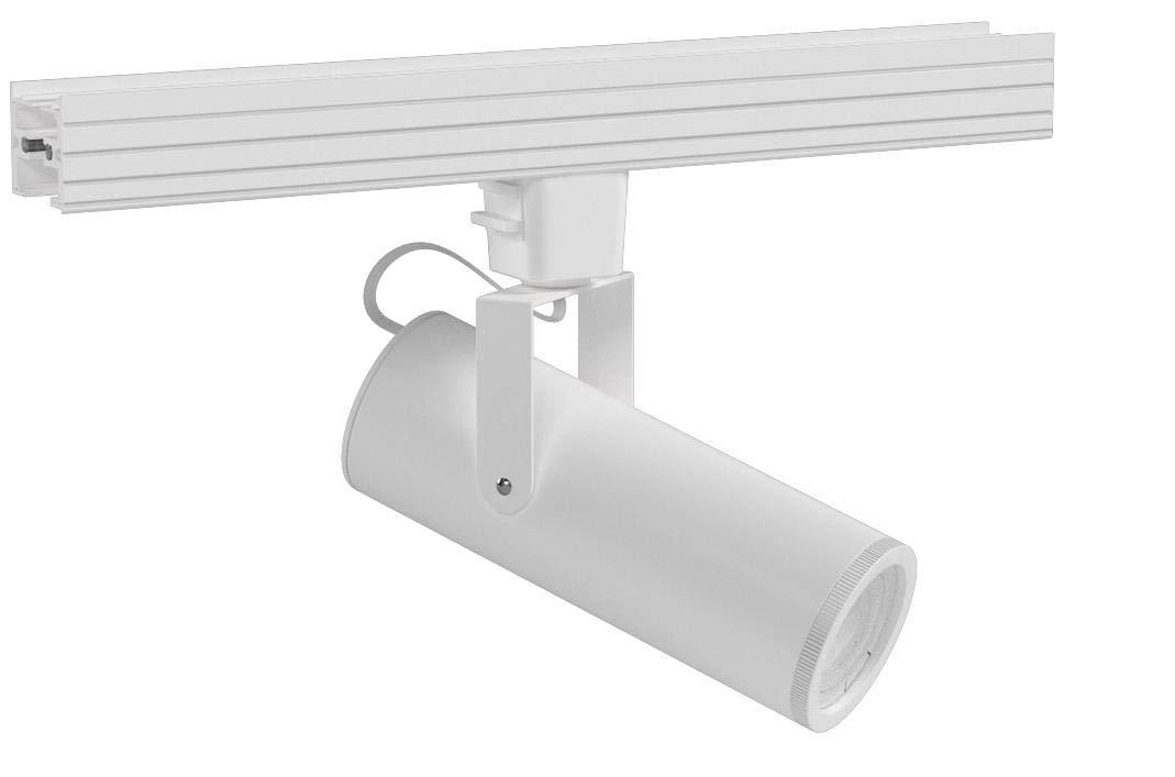 WAC Lighting L-2020-930-WT LED2020 Silo X20 Beamshift Head in White for L Track, 20 Watts
