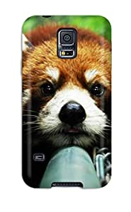 Top Quality Protection Red Panda Pupie Case Cover For Galaxy S5