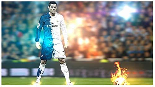 Cristiano Ronaldo poster 43 inch x 24 inch / 24 inch x 13 inch by bribase shop