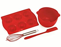 The Chefs Toolbox Junior 4-Piece Silicone Bake Set