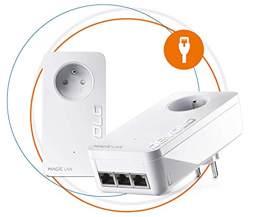 Devolo Magic 1 – Miniadaptador WiFi Blanco 2400 Mbps Magic 2 Triple