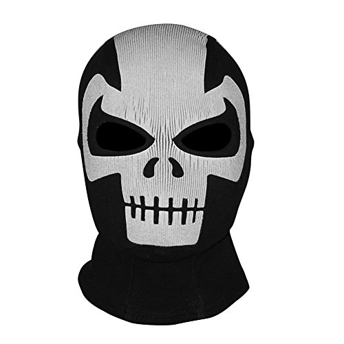 Innturt Crossbones Fabric Ghost Mask Balaclava Skull Hood ()