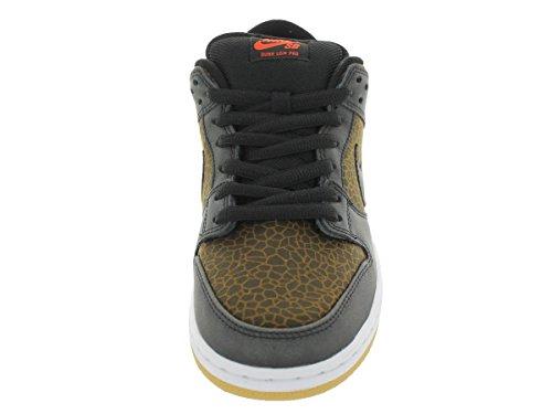 Nike Dunk Low Premium SB 313170-018 Hochleistungs-Skateboardschuhe? SCHWARZ / TEAM ORANGE // SCHWARZ